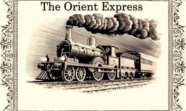 orient-express-dampfzug-briefmarke-cartoon-160275